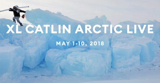 XL Catlin Arctic Live 2018 banner