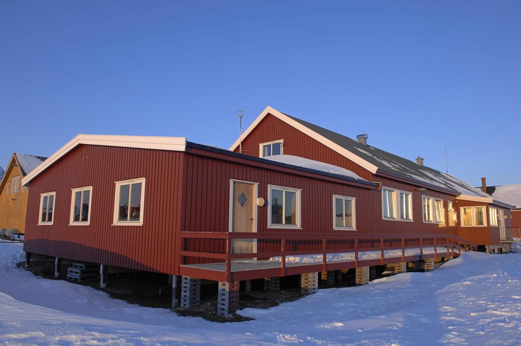 NERC Arctic Research Station inNy-Alesund
